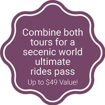 Combine Both Tours for a Scenic World Ultimate Rides Pass