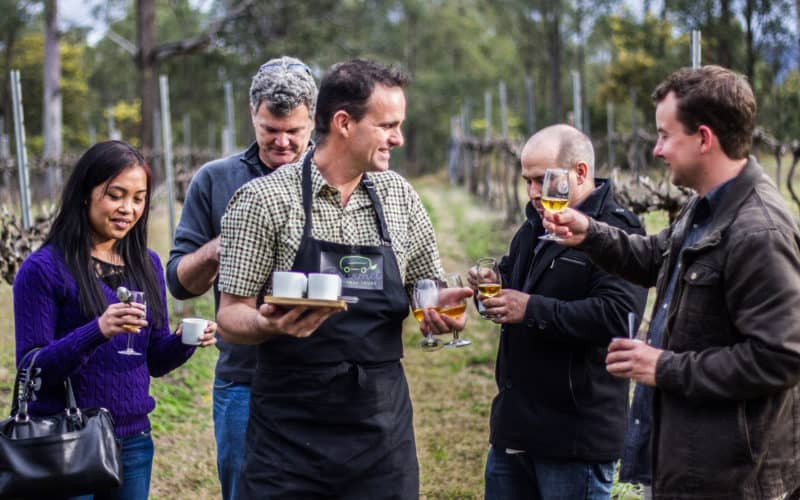 Food and Wine in the Hunter Valley