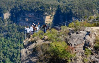 Blue Mountains Tourists