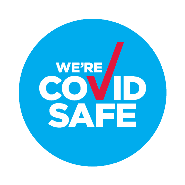 COVUD Safe Badge